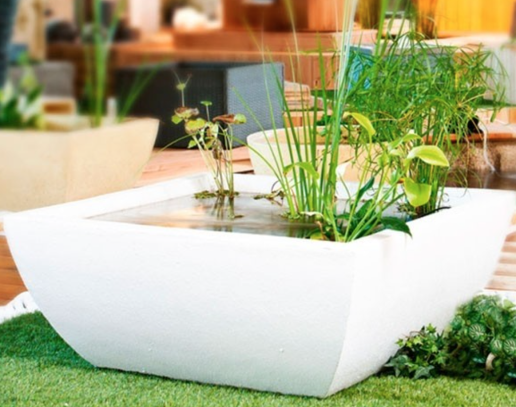 Container Water Garden ⋆ Small Fish Ponds Garden Ponds