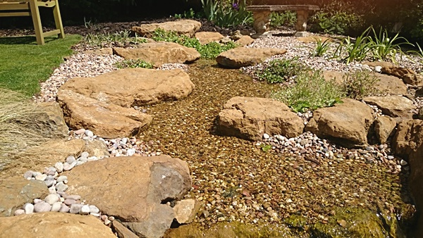 Natural Looking Water Feature Gallery ⋆ Small Fish Ponds