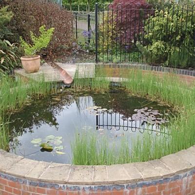 Formal Garden Ponds