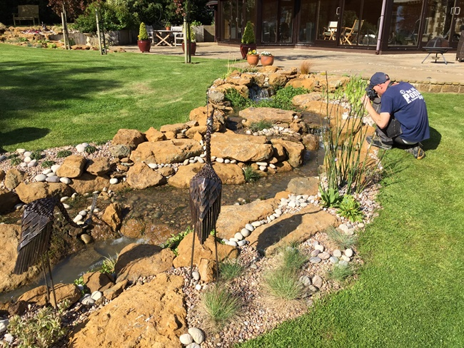Naturalistic pond design garden pond specialists in the for Garden pond specialists