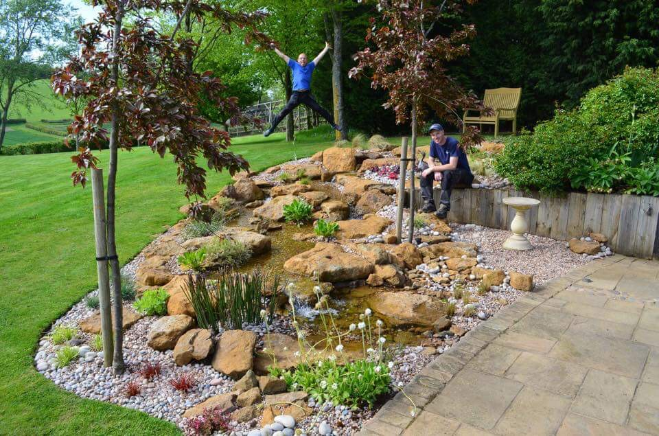 Garden ponds and water features the best in the world for Garden ponds uk