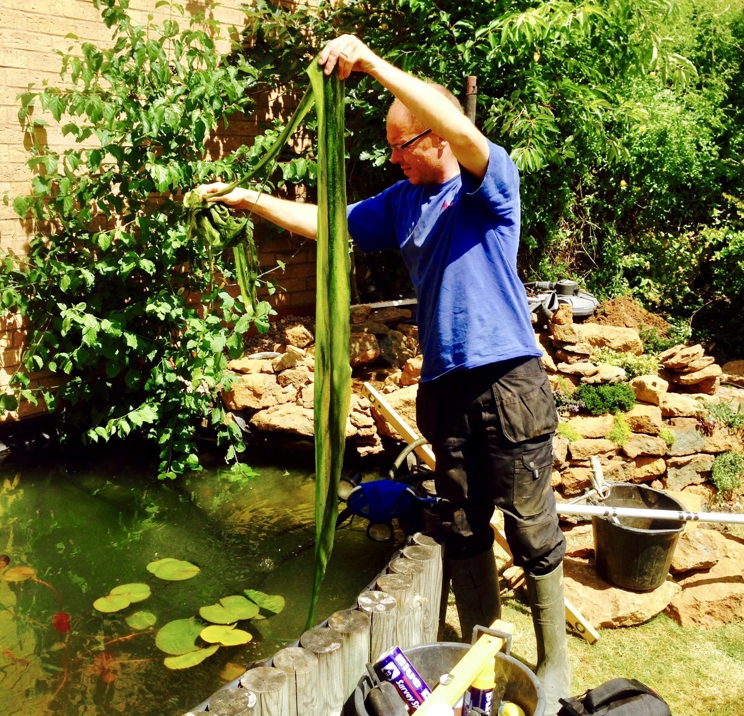 Pond maintenance uk from your leading pond maintenance for Garden pond cleaning