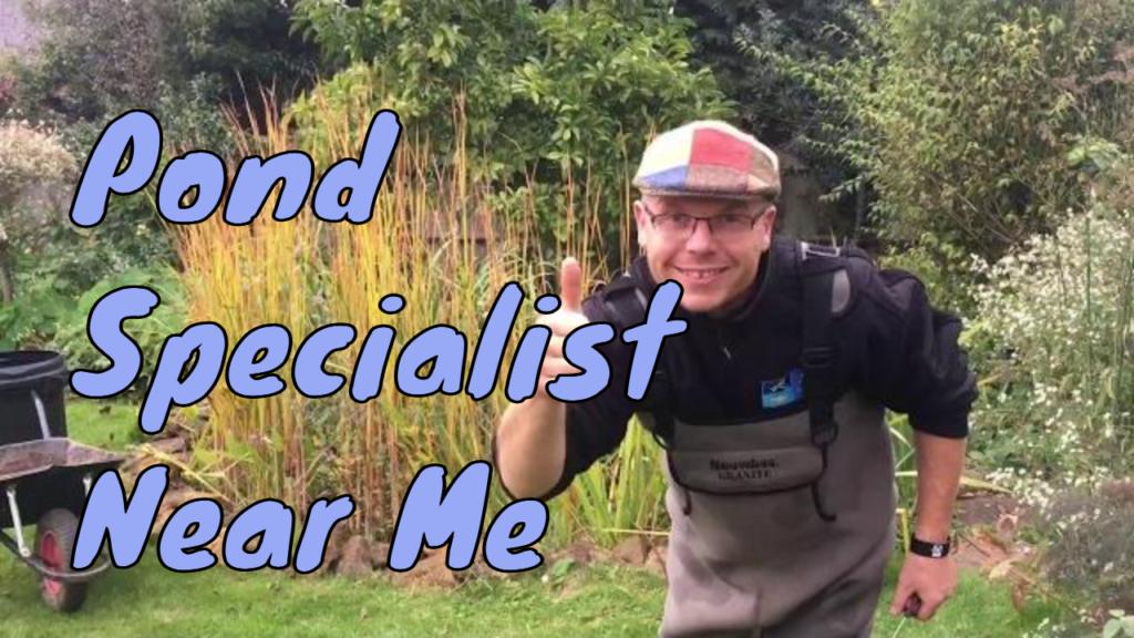 pond specialist near me