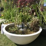 Large Patio Pond White Bell Fountain